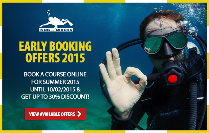 Scuba Dive Early Booking Offers for Summer 2015 - Kos Greece