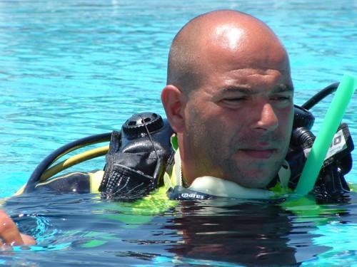 Kostas Marmarinos - Kos Divers Founder