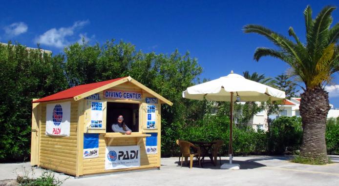 New info kiosk at Kipriotis Village