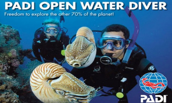PADI Open Water Diver course / Private SILVER