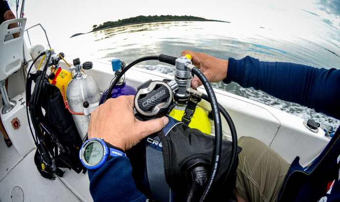 THE IMPORTANCE OF BEING A SELF-RELIANT DIVER