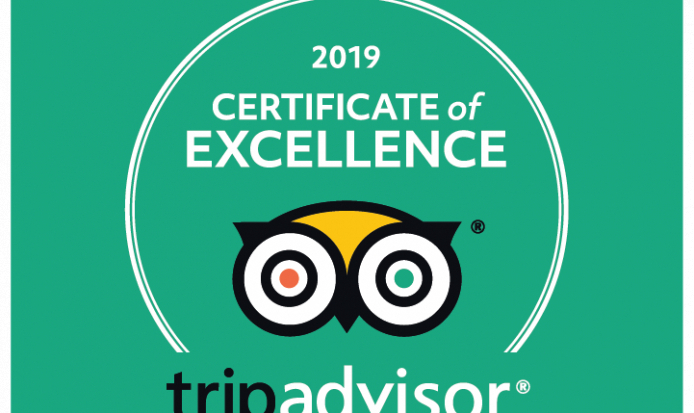2019 Certificate of Excellence