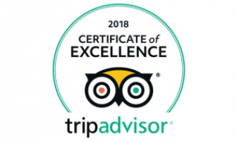 TripAdvisor's 2018 Travelers' Choice Award