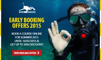 Early booking offer for 2015