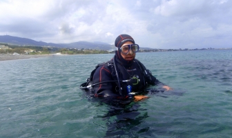 Dry suit course
