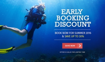 Early Booking Discount for Summer 2016
