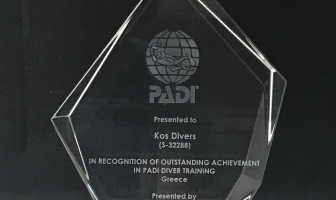 Our recognition from Padi